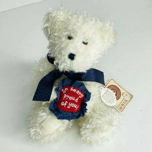 "Boyds Bears Beary Proud Of You 8"" Plush Bear Teddy"